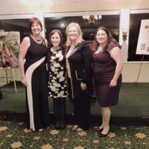 The 2017 Women of Distinction Winners Janice Norman (Volunteer), Adriana Mancini (Rising Star), Laurie Gaylord (Civic/Professional) and Lisa Compagno (Business/Professional)